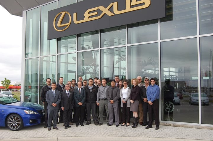 Lexus of London Team