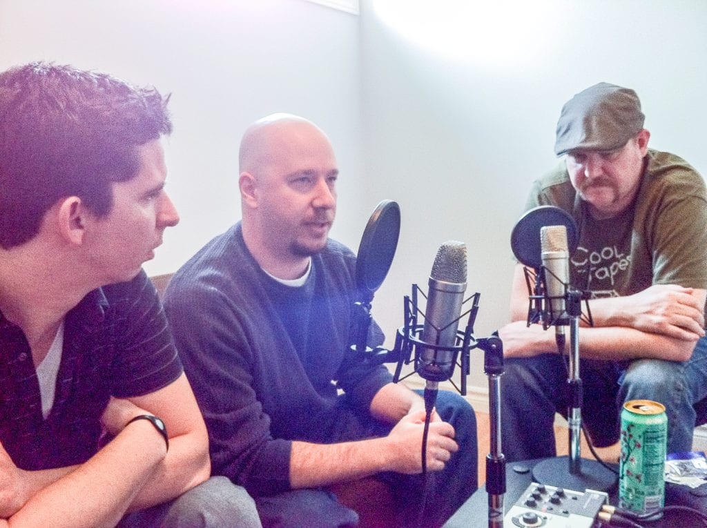 Dave Lawrence, Jordan Minter, and Kyle Davis