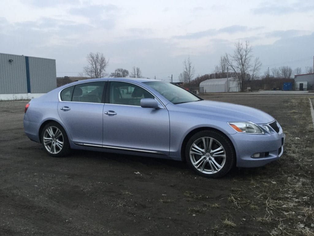 2007 Lexus GS 450h Premium Blue Icicle Blue Periwinkle Crystalline Ice