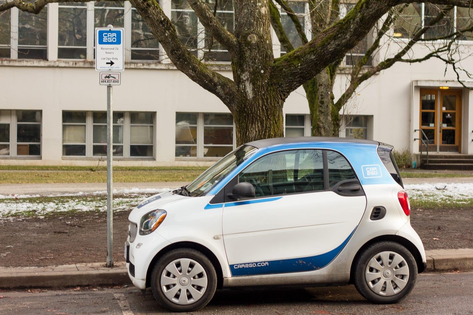 Car2go Car Share Smart Car